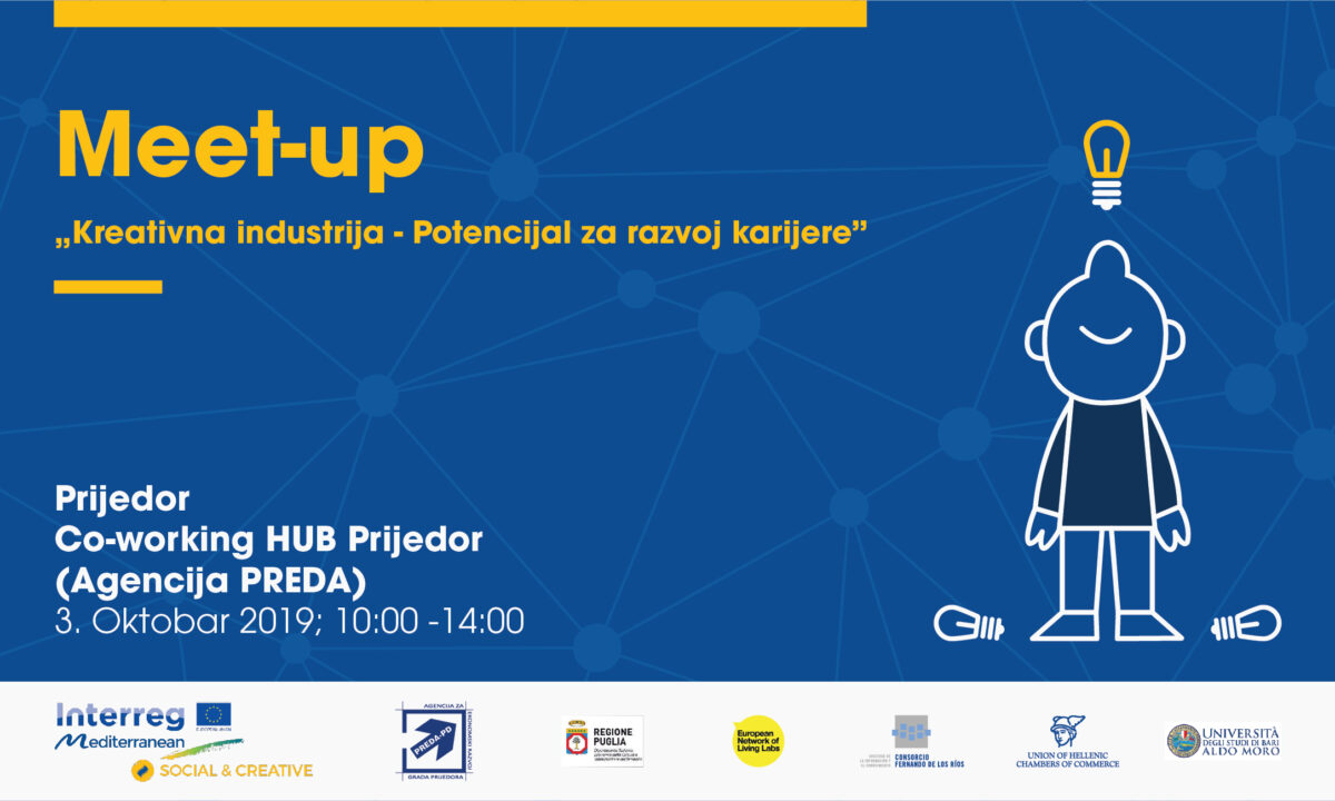"Meet-up ""Kreativna industrija – Potencijal za razvoj karijere"""