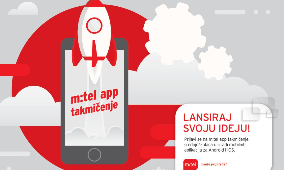 Napravi tim, prijavi se i učestvuj u m:tel app takmičenju